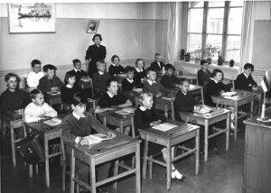 historiskt klassrum